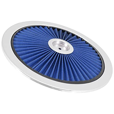 "Spectre Performance 47616 Blue 14"" Air Cleaner Top: Automotive"