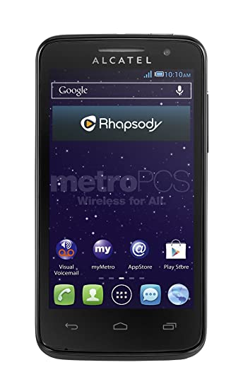 Amazon com: Alcatel One Evolve Prepaid Phone (MetroPCS): Cell Phones