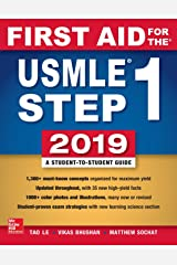 First Aid for the USMLE Step 1 2019,  Twenty-ninth edition Paperback