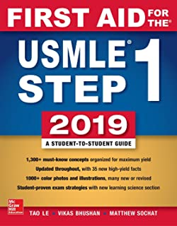 First Aid for the USMLE Step 1 (2019)