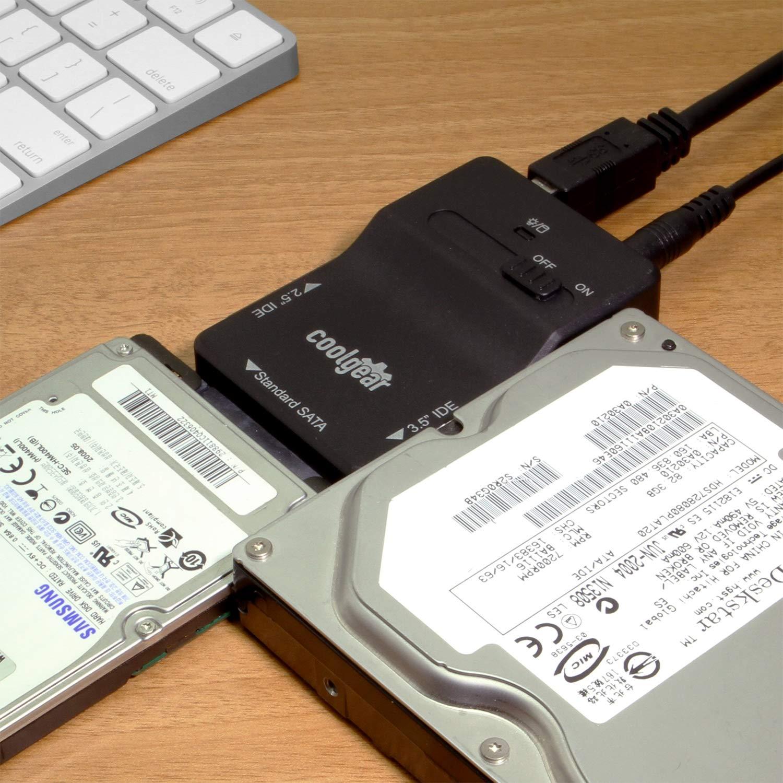 Amazon.com: COOLGEAR USB 3.0 a SATA adaptador de disco duro ...