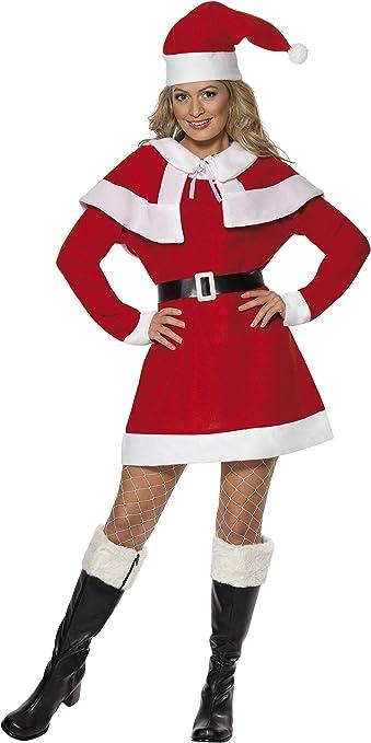 Little MISS Babbo Natale Costume per Ragazze Outfit Da Festa Di Natale