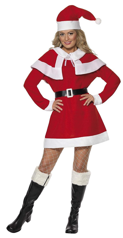 Smiffys - Smiffys Miss Santa Fleece Costume: Smiffys: Amazon.es ...