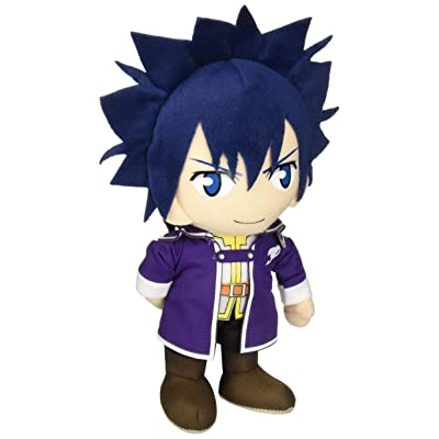 "Great Eastern Entertainment Fairy Tail - Gray S6 Clothes Collectible Plush Toy, 8"": Toys & Games"