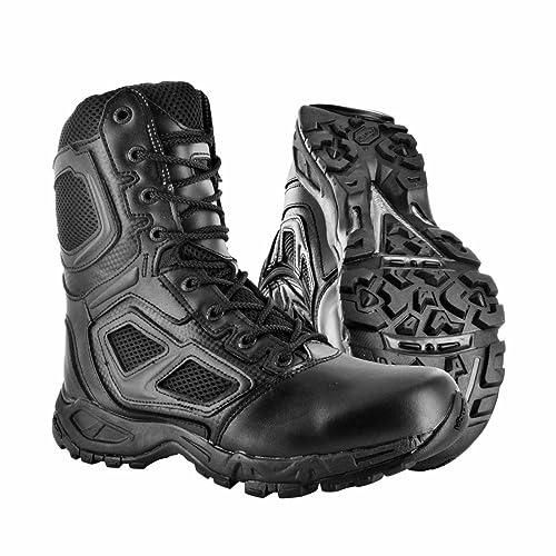 Magnum Men's Safety Shoes black black Size: 2.5
