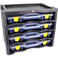 Tayg Multibox No3L, Zwart/Donkerblauw, 530 x 376 x 430 mm