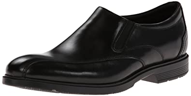 Rockport Mens City Smart Bike Toe Slip On Black 85 W EE85