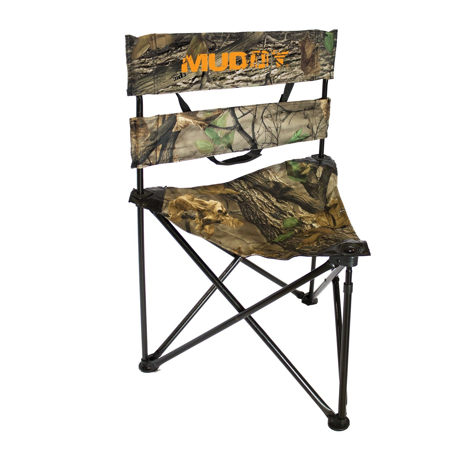 Amazon Muddy Folding Tripod Ground Seat Camo Sports
