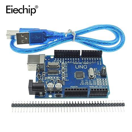 Amazon.com: Smart Electronics un juego (CH340G) de uno r3 ...