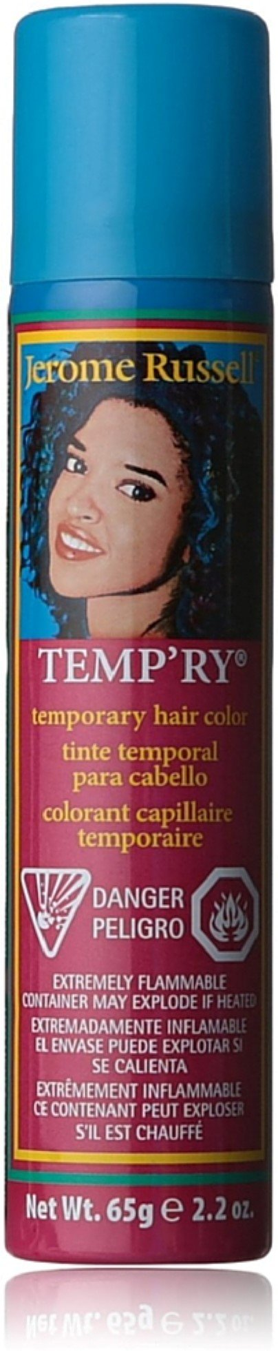 Jerome Russell Temporary Spray, Red Wine 2.2 oz (Pack of 12) by Jerome Russell