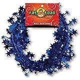 Axiom International Wire Garland, Blue Stars, 25 Feet