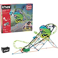 K'NEX 402-Piece Thrill Rides Twisted Lizard Roller Coaster Building Set with Ride It