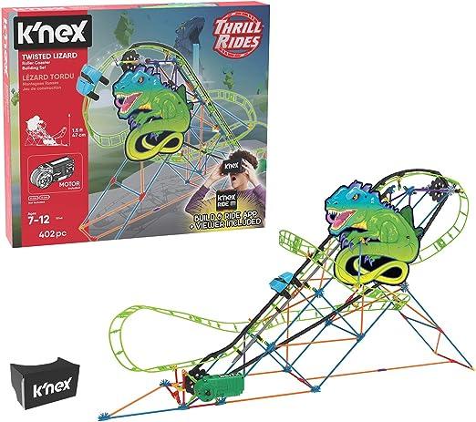 KNex Twisted Lagarto - Juego de montaña rusa: Amazon.es: Juguetes ...