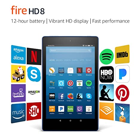 Review Fire HD 8 Tablet