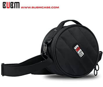 BUBM® Organizador de DJ Cascos Profesional, Pro DJ Headphone Bag , Headphones Case,