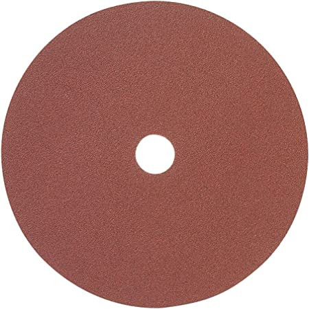7 x 7//8 120 Grit Resin Fiber Sanding Disc Aluminum Oxide 25//Pack