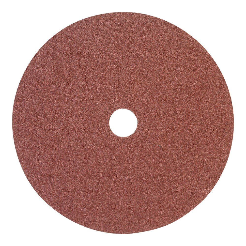 Mercer Industries 304080 80 Grit Aluminum Oxide Resin Fiber Discs (25 Pack), 7 x 7/8''