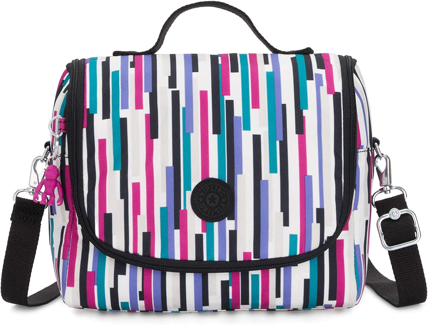 Kipling Kichirou Insulated Lunch Bag, Urban Stripe, 9