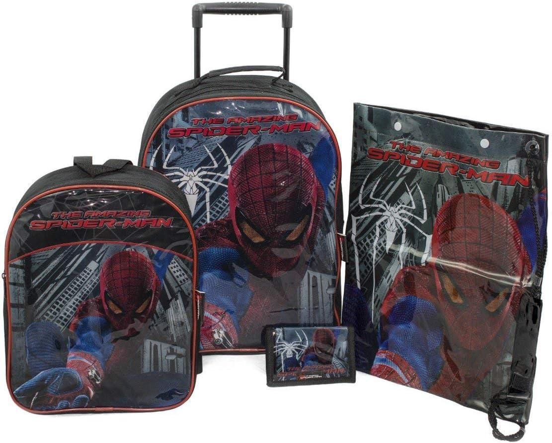 sambros bag-8067-spm The Amazing Spiderman Valises Lot de 4