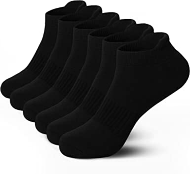 12 Men-Ladies Sports Gym Athletic Workout Cushioned Trainer Summer Socks Design
