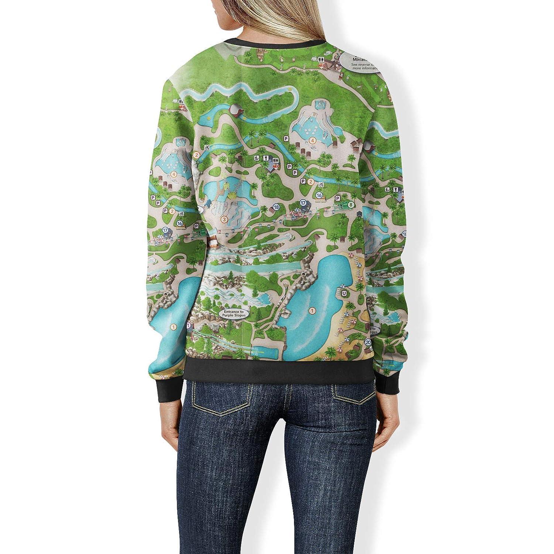 Queen of Cases Blizzard Beach Map Sweatshirt