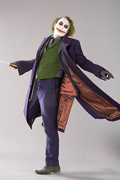 Batman The Dark Knight The Joker Full Suit Cosplay Costume Outfit Support Custom Made  sc 1 st  Amazon.ca & Batman The Dark Knight The Joker Full Suit Cosplay Costume Outfit ...