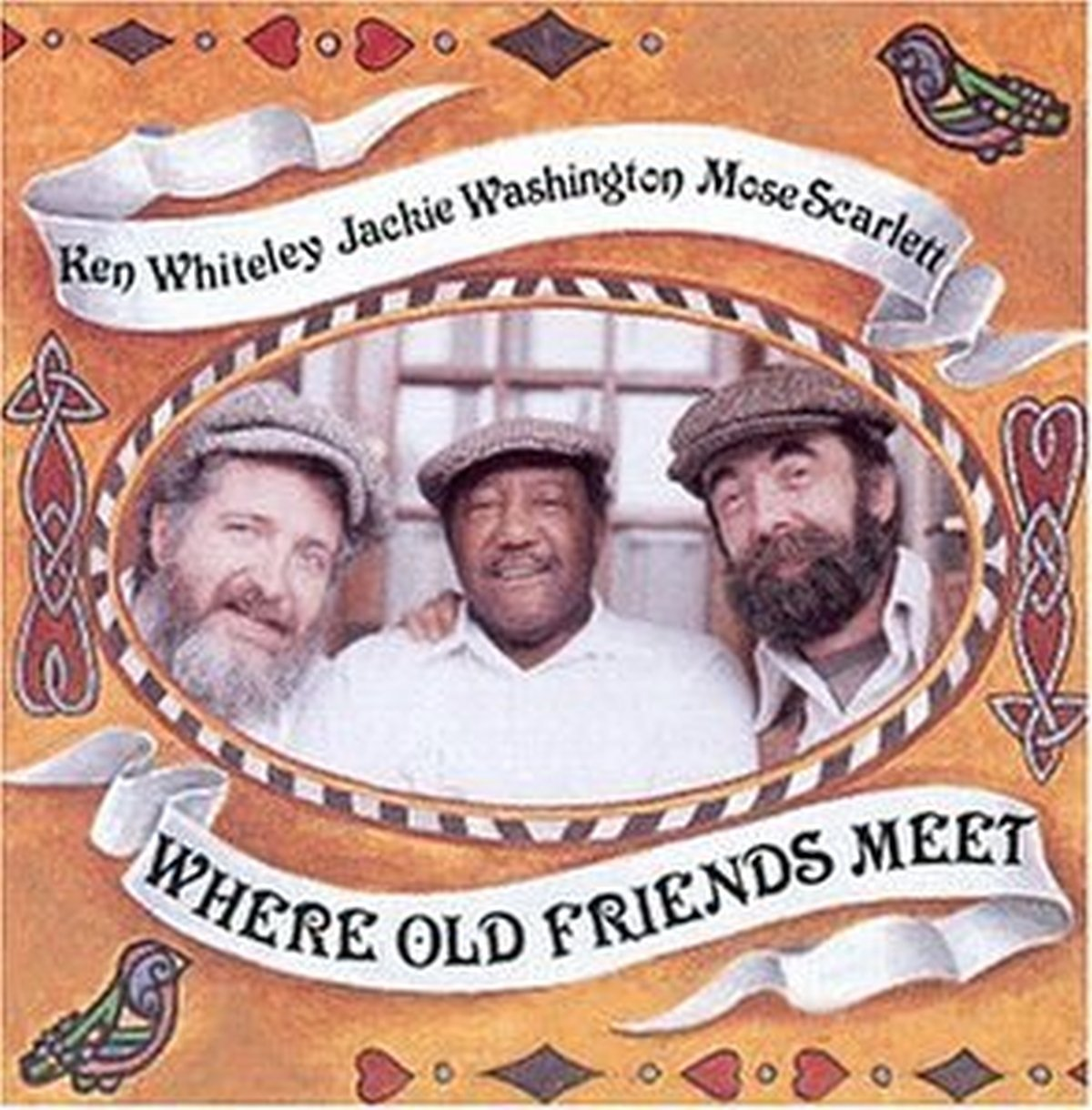 CD : Scarlett, Washington & Whiteley - Where Old Friends Meet (CD)