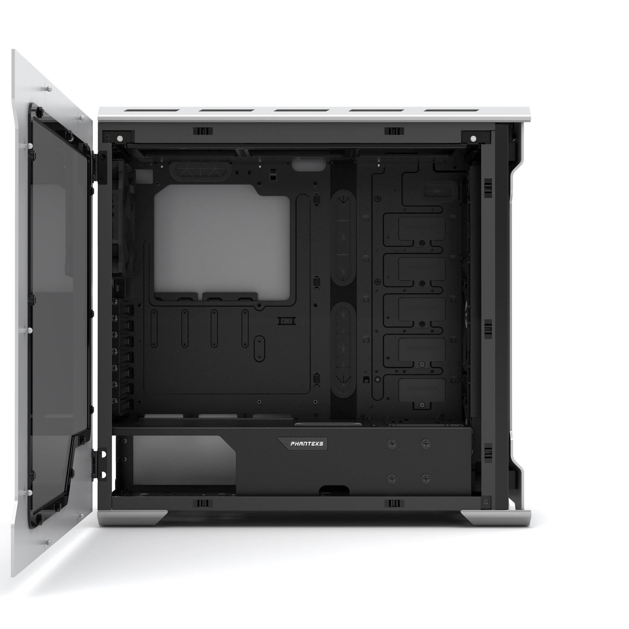Phanteks Enthoo Evolv ATX Alum/Steel Tower Computer Case, Window (PH-ES515E_GS) Galaxy Silver by Phanteks (Image #6)