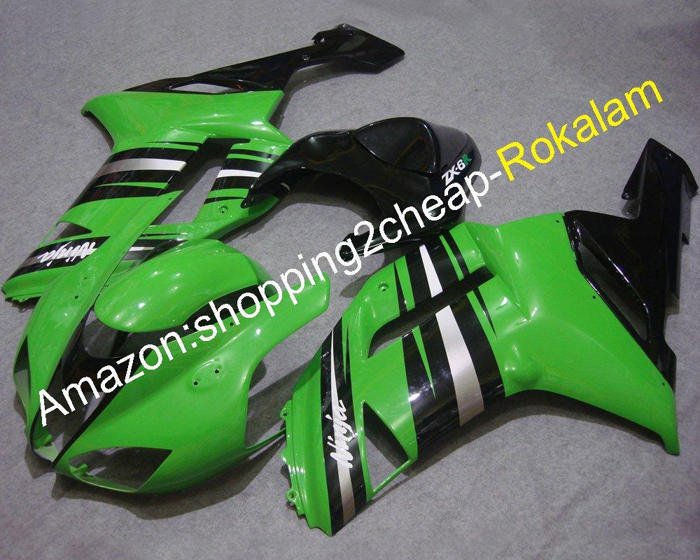 Kit de carenado para Kawasaki Ninja ZX6R 2007 2008 ZX-6R ZX ...