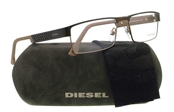4b5489c54a31 Amazon.com  Diesel Eyeglasses DL 5020 BROWN 050 DL5020  Diesel  Clothing