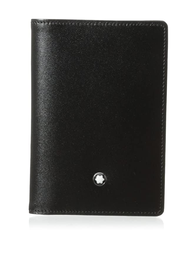 Montblanc Business Card Case - Tarjetero, Negro: Amazon.es ...