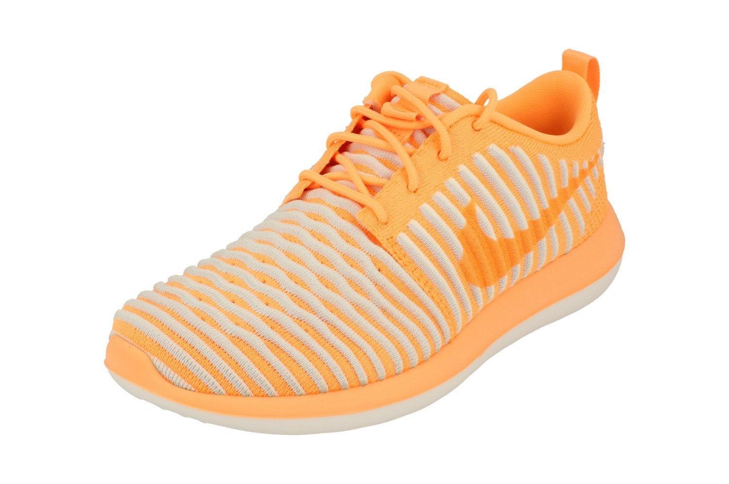 huge selection of c7c0e 96dc0 Galleon - Nike Womens Roshe Two Flyknit Running Trainers 844929 Sneakers  Shoes (UK 4.5 US 7 EU 38, Peach Cream 800)