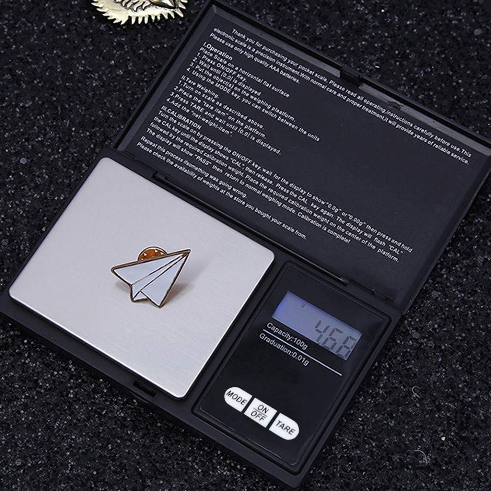 fe92bce54e3f Amazon.com: Clearance Sale!UMFun💗💗100g/0.01g LCD Digital Pocket ...