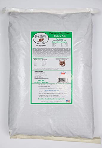Sheila s Pick Cat Food 20 lb