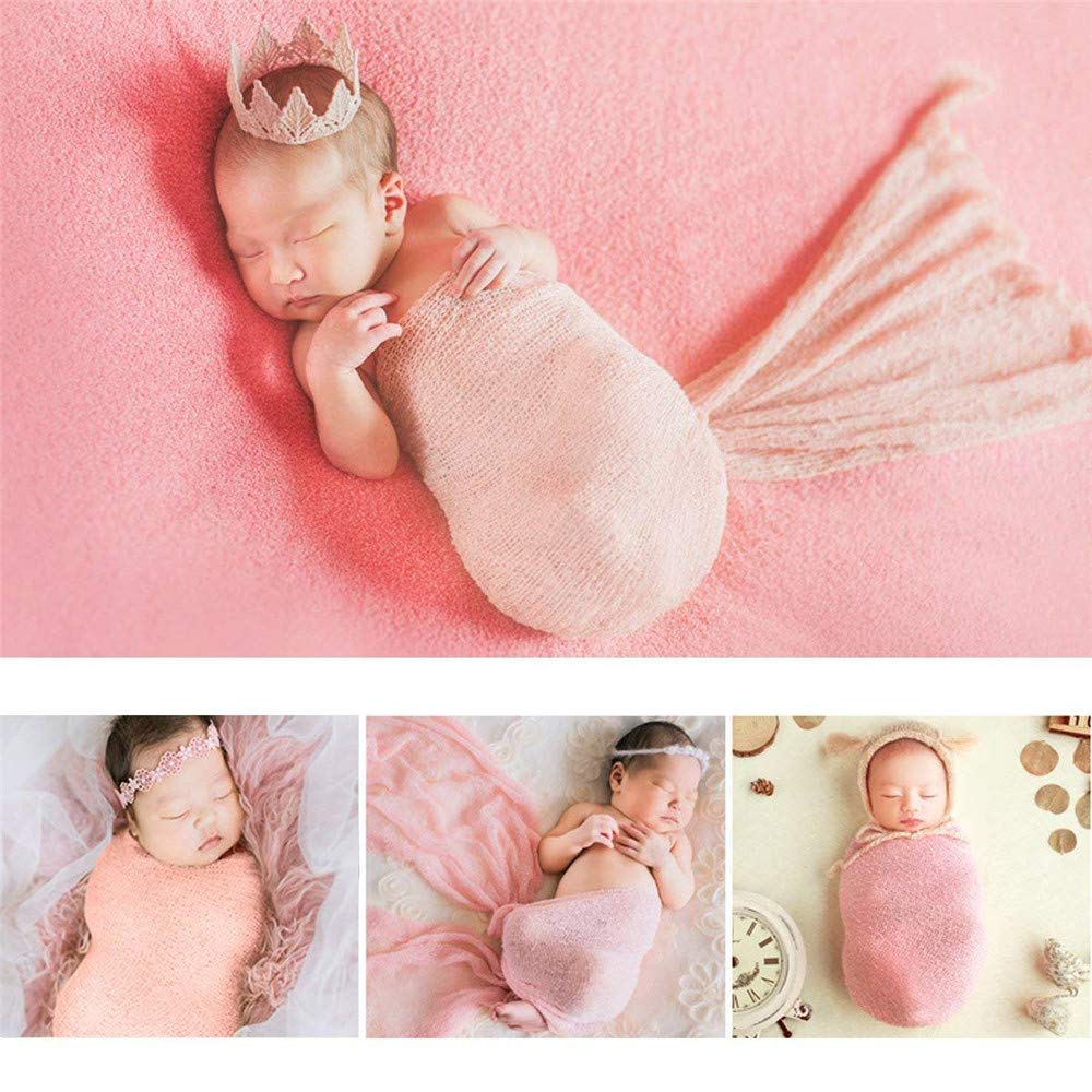 MAICHIHUOY Baby Wrap Fotografie Neugeborene Foto Requisiten Baby Fotografie Foto Prop Stretch Wrap