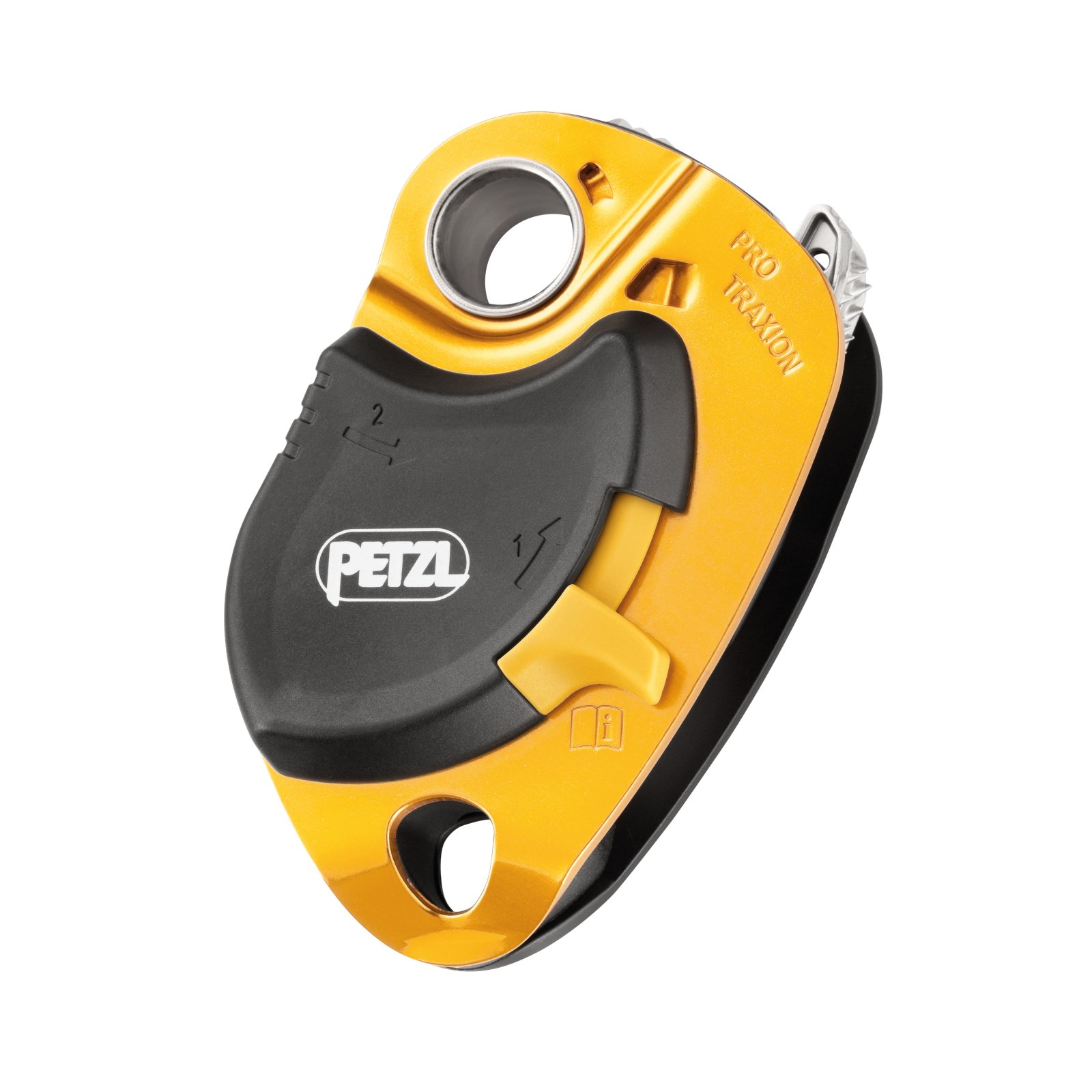 PETZL - PRO Traxion, Loss-Resistant Progress Capture Pulley by PETZL