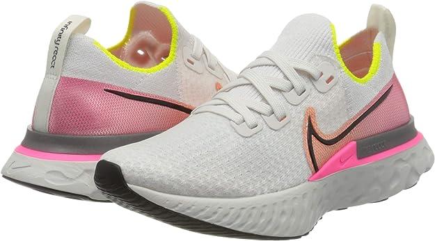 NIKE React Infinity Run Flyknit, Zapatillas de Running para Mujer: Amazon.es: Zapatos y complementos