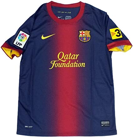 Amazon Com Nike Fcb Boys Ss Home Repl Jsy Grosse Nike Us S Soccer Jerseys Clothing