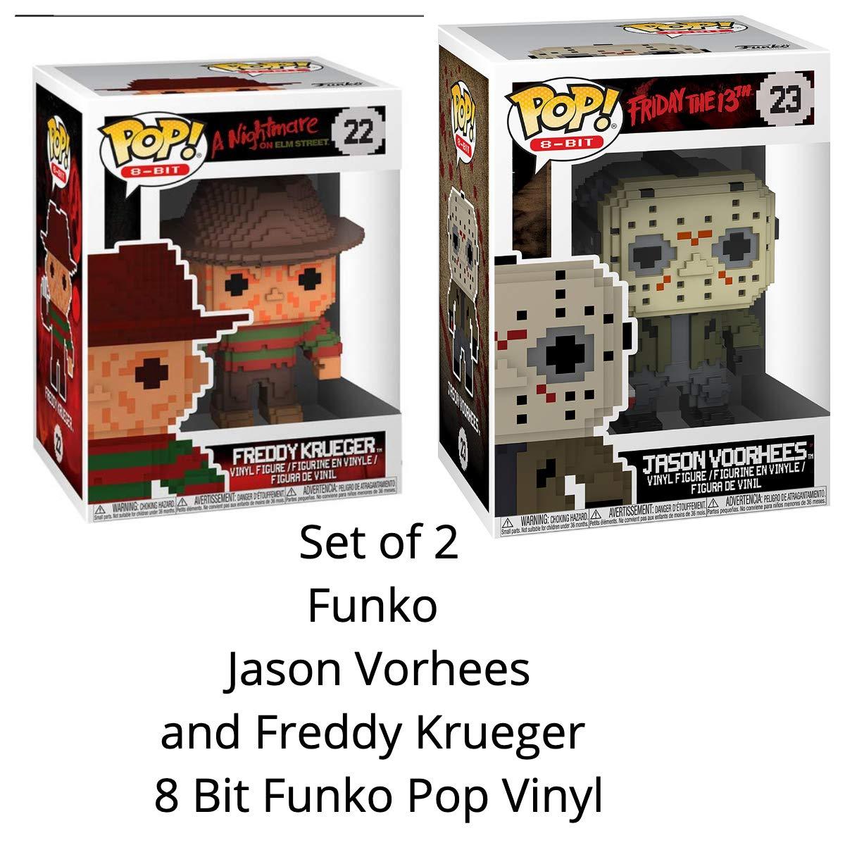8-Bit POP Horror Funko Freddy Krueger Brand New In Box