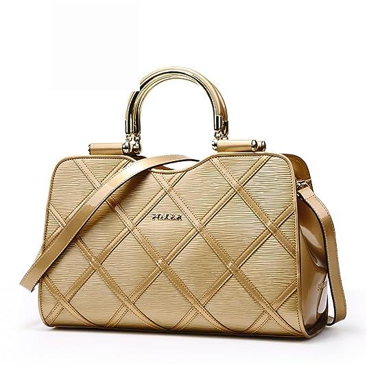 Bikifree Practical 2018 new leather Quilted leather women handbags /bags handbags women famous brands Chic BlackOne Size: Handbags: Amazon.com