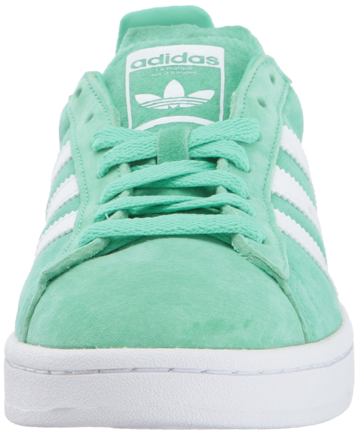 adidas Originals Men's Campus Sneakers -, Green Glow Crystal White, (11 M US) by adidas Originals (Image #4)