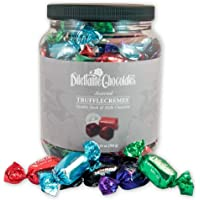 Assorted Chocolate TruffleCremes   28-ounce Jar   Covered in Premium Milk & Dark Chocolate   Made with All-Natural…