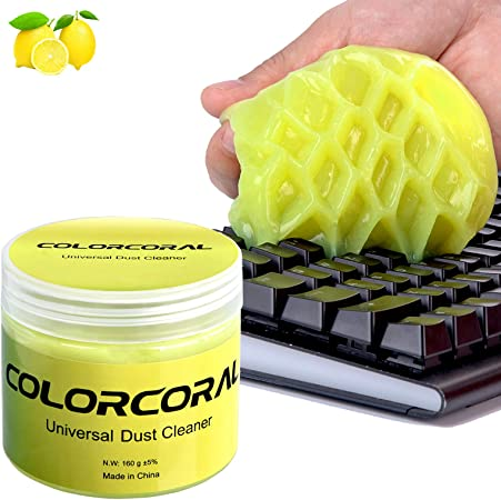 Keyboard Car Cleaning Kit Car Detailing Kit Car Cleaner Interior Auto Detailing Tools Air Vent Cleaner Car Accessories Universal Dust Cleaner Gel Mud Cleaner Remover for PC Cleaning Gel