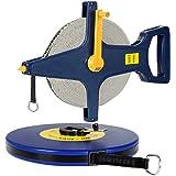 Rollbandmaß 50m 【Größenauswahl/Modellauswahl】 | Glasfaserverstärktes Material | Öse - Maßband Bandmaß Kapselmaßband Messband Maß Messen Rollmeter Rollmaßband