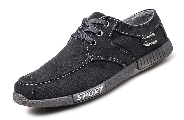 LIEBE721 Lauml;ssige Mode Schuhe Gleiten auf Wanderschuhe der Beliebten Mauml;nner  41 EU|Grau