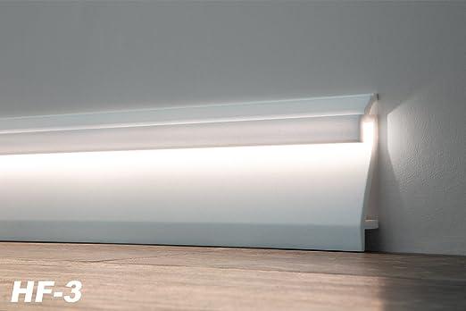 Indirekte Beleuchtung Profile | 10 Meter Led Sockel Fussleiste Indirekte Beleuchtung Berliner Profil