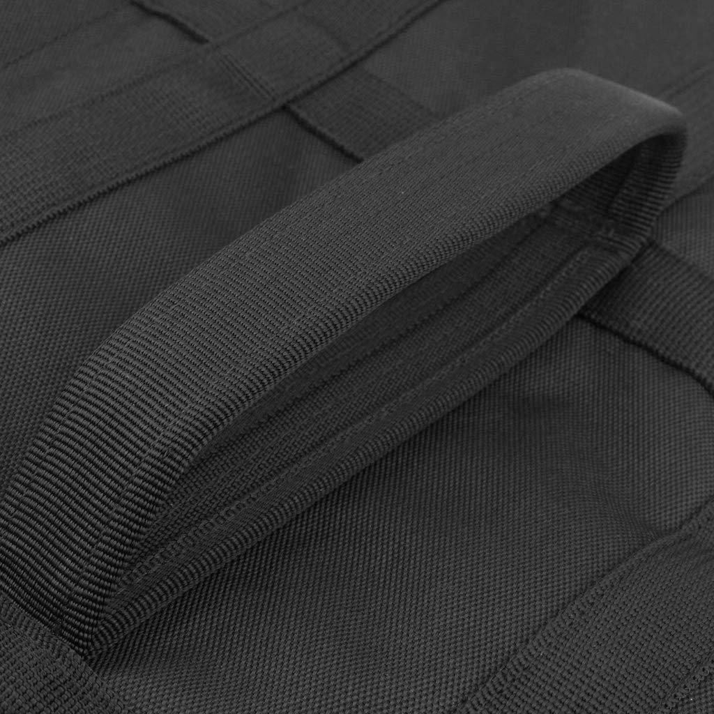 Homyl Schwarz Rutenhalter Rutenhalter Rutenhalter Tasche Deluxe Gepolsterte Tasche Gepäck Fall Karpfen Angelrute Tasche B07H1J63FD Rutentaschen Ausreichende Versorgung f00b19