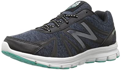 New Balance Women's W645V2 Running Shoe Black/Seafoam 6.5 B(M) US