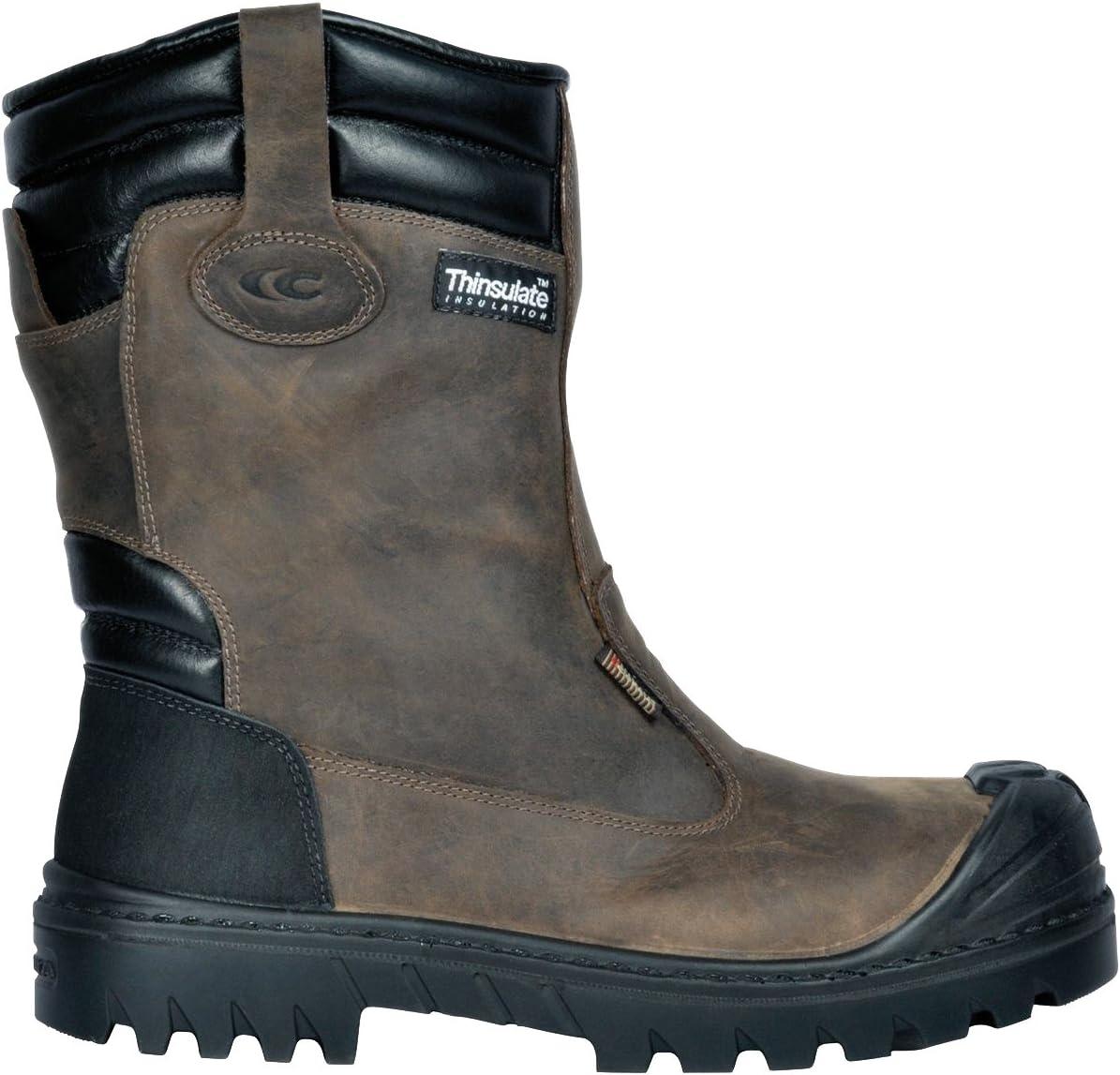 Color marr/ón /000.w45/Talla 45/UK S3/Ci HRO SRC baranof Zapatos de Seguridad Cofra 26550/
