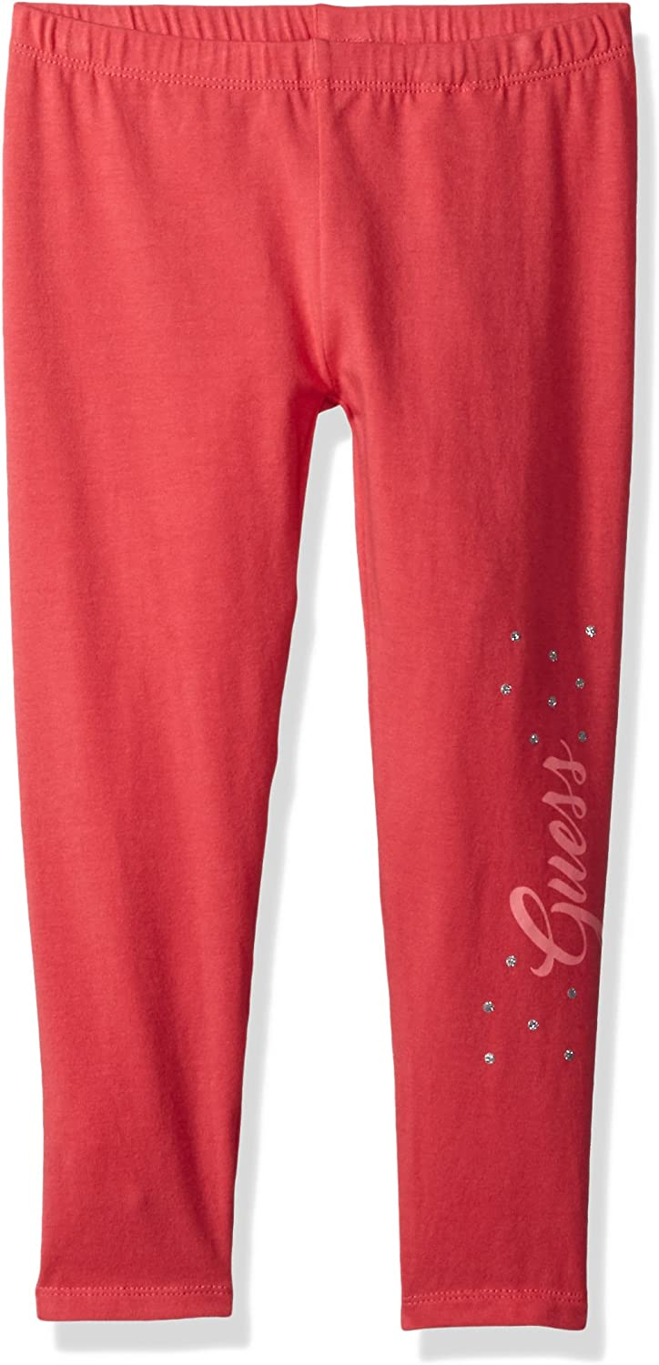 6X//7 GUESS Little Girls Leggings Clared Red